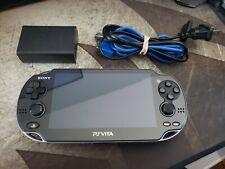 PS Vita OLED 128GB 3.60 Henkaku Enso w/ Charger SD2Vita 128GB Micro SD CFW