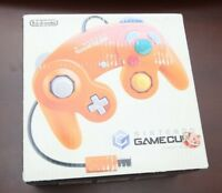 Nintendo GameCube orange console's box and manual US seller Please Read