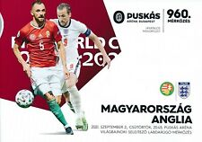 More details for hungary v england (world cup 2022 qualifier 02.09) 2021 - official programme