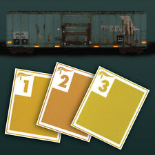 Smokebox Graphics RV87 HO Scale Reflective Strips Variety Pack Yellow FRA 224