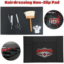 PU/PVC Barber-Salon Non-Slip Mat Hairdressing Scissors Comb Clippers Storage Pad