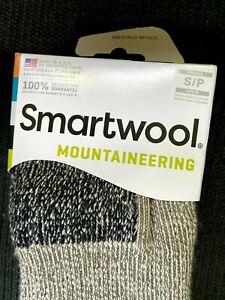 SmartWool Unisex Extra Heavy- Thick Mountaineering Merino Wool Socks Size Small