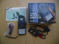 Micronta AC Volt-AMMeter 7 Range Meter with Test Probe Inline Inductive Pickup