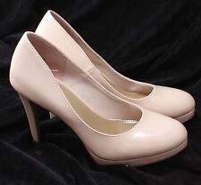 """Fioni Champagne Patent 4.5"""" High Heel Pumps size US 8 Euro 40"""