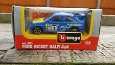 BURAGO 4173 FORD ESCORT RALLY 4X4 BOXED