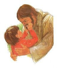 Frances Hook CHRIST WITH CHILD 10x8 Paper Art Print Jesus Artwork