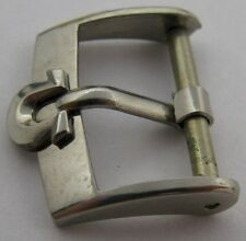 "Swiss Omega buckle in stainless steel 16 millimeters ""shoe horse"""