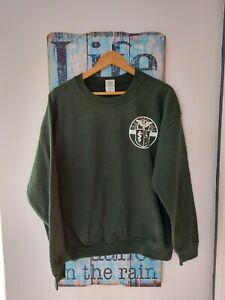 Vintage Retro Asklepiads Sweater Sweatshirt Size L Logo
