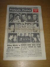 MELODY MAKER 1961 MAY 13 CLIFF RICHARD SHIRLEY BASSEY MATT MONRO SHADOWS +