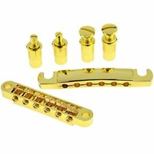Set Of Tune-o-matic Guitar Bridge Tailpiece Studs For LP Gold