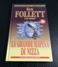 La grande rapina di Nizza - Ken Follett - Prima Edizione G.T.E. Newton & Compton