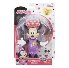 Fisher-Price Disney Minnie Mouse Her Majesty Minnie Snap N Pose Doll