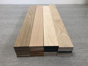 Oak,ash,maple,st.beech timber offcuts 5 Length Of Each@ 48x10x400mm long