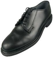 $150 Bates Men's Size 7.5D Black Oxford Uniform Police/Military Dress Shoe 968C