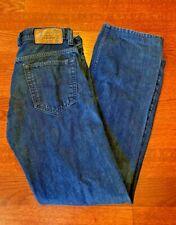 Diesel Viker Men's 30 x 32 Button Fly Wash OR933 Regular Straight Jeans