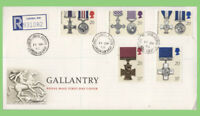 G.B. 1990 Gallantry set Royal Mail First Day Cover, Chelsea Hospital cds