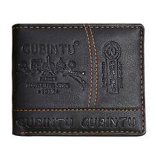 Porte-monnaie pour homme en cuir véritable Portefeuille Portefeuille Slim