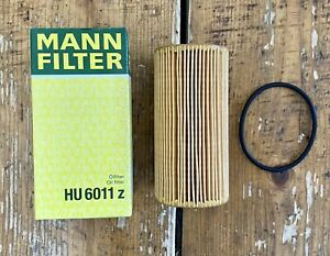 MANN FILTER HU 6011 z Oil Filter For Nissan, Opel, Renault New In Box