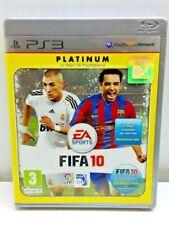 PS3 FIFA 10 PLATINUM PAL ESPAÑOL SPANISH