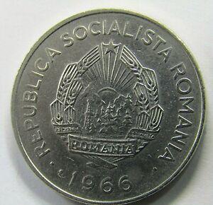 Romania Socialist Republic (1965-1989) 1 Leu Coin 1966