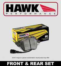 [FRONT + REAR SET] HAWK Performance Ceramic Brake Pads HPP51710 [SRT8 w/BREMBO]