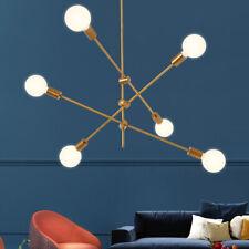 Sputnik Light  Modern Chandelier 6 Light Ceiling Light Fixture Pendant Light