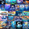 Dolphin 5D Diamond Painting Embroidery Cross Craft Stitch Kit Home Art Decor DIY