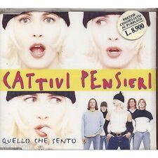 CATTIVI PENSIERI - Quello che sento - CDs SINGLE 1997 SIGILLATO SEALED