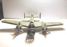 B-25 Bomber Plane Hanging Decorative Tin Metal Lovely Shelly Large