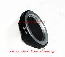 Minolta MC/MD Lens to Leica M/ Voigtlander M/ Ricoh GXR Mmount Camera Adapter