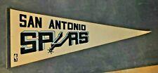 Vintage San Antonio Spurs NBA Full Size Felt Pennant 1970's