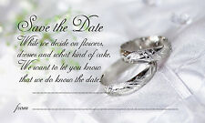 WEDDING SAVE THE DATE CARDS - 50 PER PACK