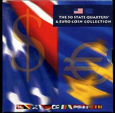The 50 State Quarters & Euro Coin Collection - Unopened