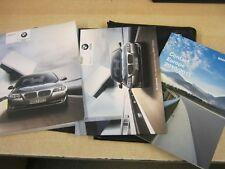 BMW 5 SERIES  OWNERS MANUAL HANDBOOK 2010-2014  INC I DRIVE refm76