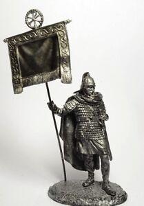 Tin soldier, figure. Roman standard-bearer Labarum Constantine I 60 mm