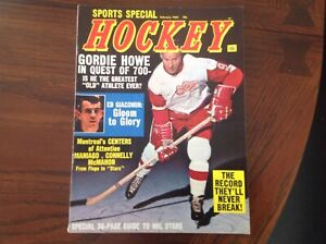 1969 Sports Special Hockey, Gordie Howe in Quest of 700, Ed Giacomin - NHL