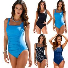 Plus Size Swimsuit Monokini Bikini Women Beach Swimwear Control Tummy One Piece