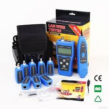 Latest NF388 Network Ethernet LAN Phone Tester wire Tracker USB Coaxial Cable