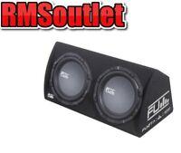 "Fli FU12TA Twin Double 12"" Car Amplified Active Subwoofer Bass Box 2000W"