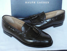 NEW Ralph Lauren CORDOVAN CRUP Loafer Shoes by Crockett & Jones UK 7 E RRP £620