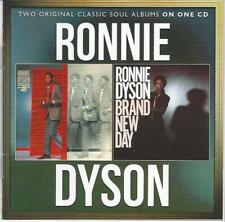 SOUL Ronnie Dyson Phase 2 & Brand new day CD 1982/83 2 LP Rare !