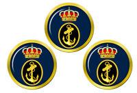 Espagnol Marine (Armada Española) Marqueurs de Balles de Golf