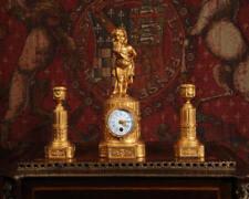 Metal Antique, Pre-1900 Antique Clocks