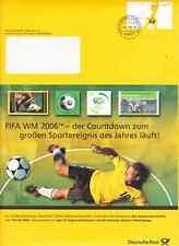 """Deutsche Post """" PHILATELIE  - Beleg 08.05.2006 """" echt gelaufen, siehe Scan"""
