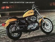 HARLEY Accessory Sheet 2000 XL 1200S Sportster 1200 Sport COLOR PHOTO