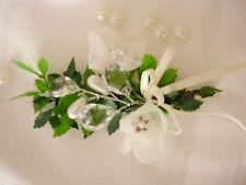 Haarschmuck Blumenspange Straßblüte Kommunion Hochzeit