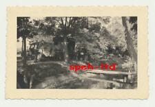 Original Foto / ..Waldstellung mit Kübelwagen, Kolomea ( Ukraine )  August 1943