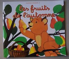 #) livre enfant : GASTON L'OURSON 1. les fruits de l'automne