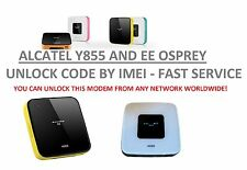 Unlock code for Alcatel Link Zone MW40V Router LTE 3G 4G WiFi Fast Servie