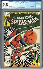 AMAZING SPIDER-MAN #244 CGC 9.8 WP